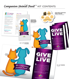 OCTOBER IS COMPANION ANIMAL FUND MONTH! Image